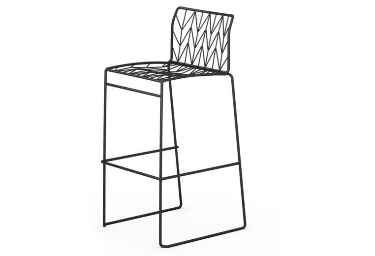 fishbone stool seating